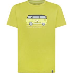 La Sportiva Van Koszulka Mężczyźni, kiwi